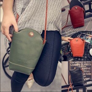 Handbags - Cross body purse (Green and Black available)